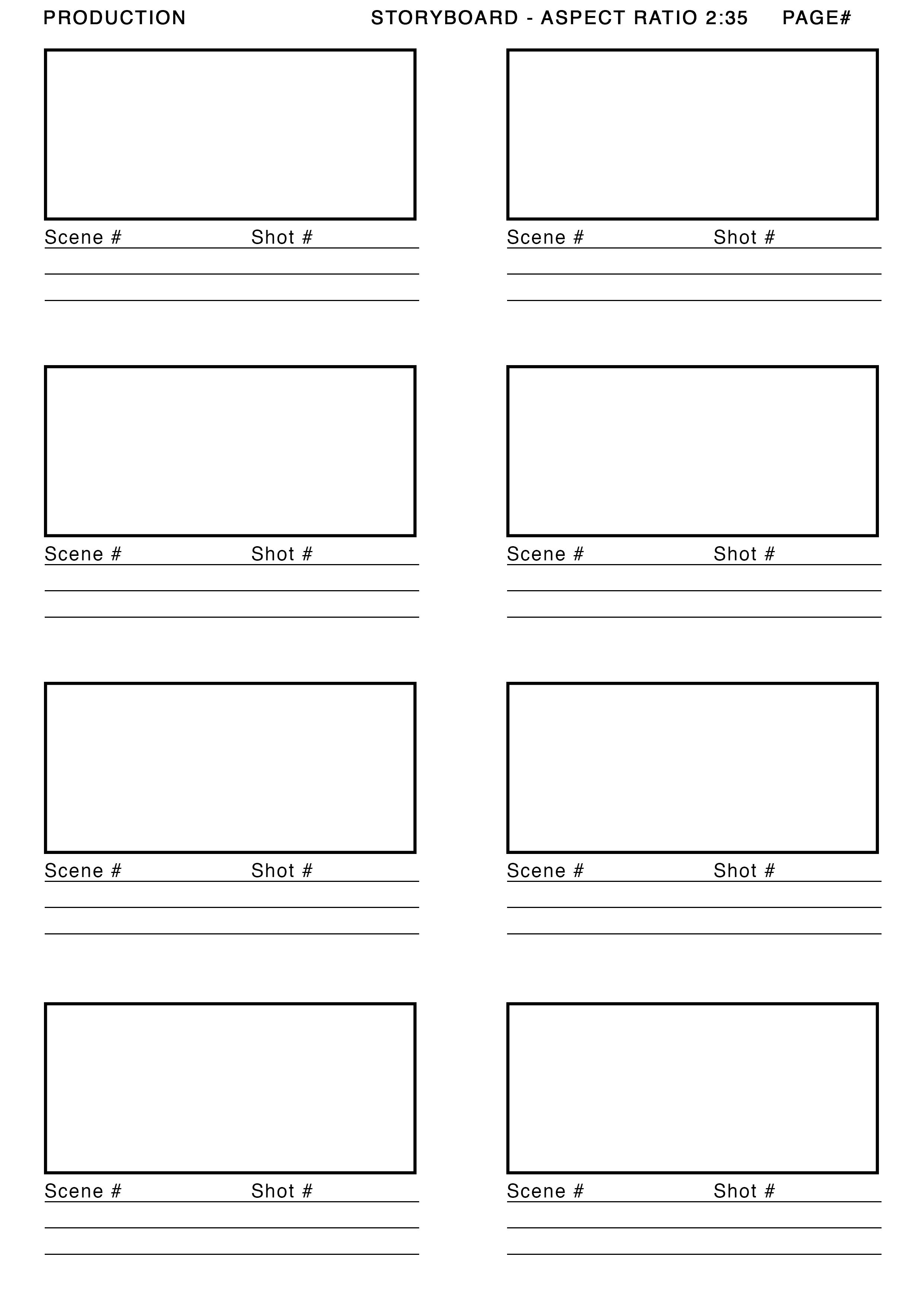 Website Storyboard Samples